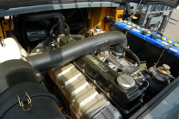 motor NISSAN TD 42