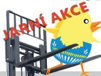 AKCE: čelní dieselový vysokozdvižný vozík