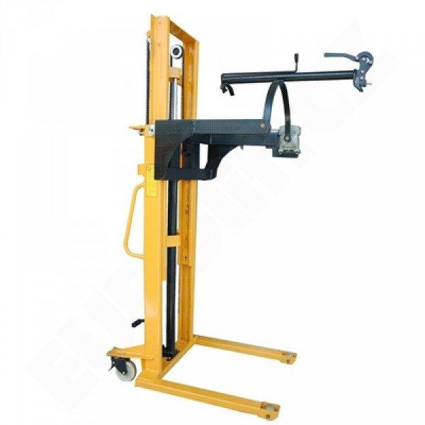 Vysokozdvižný ruční vozík s manuálním zdvihem YMS 500 manipulátor na sudy