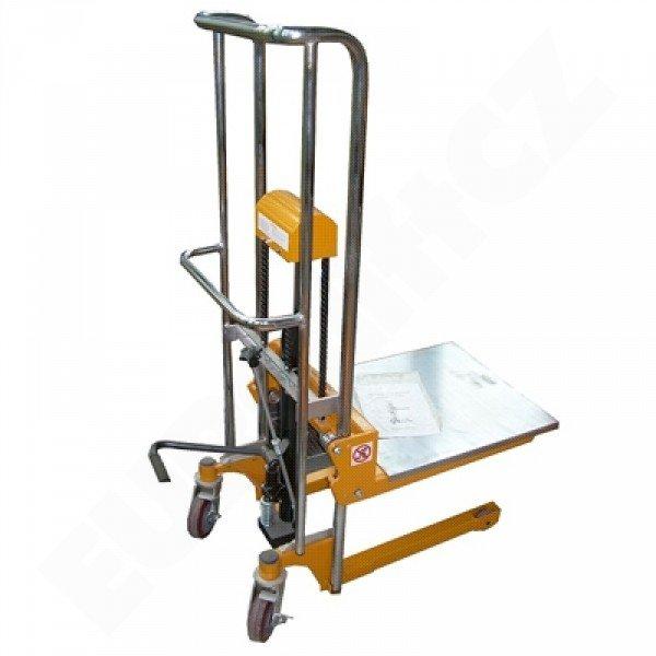 Vysokozdvižný ruční vozík s manuálním zdvihem EUROliftCZ PTF 40-11