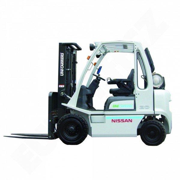 Čelní vysokozdvižné vozíky UNICARRIERS NISSAN DX 20-25 - pohon LPG