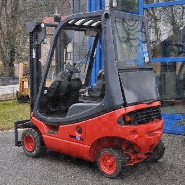 Použitý vysokozdvižný vozík dieselový Linde H 12 D - stav dobrý - po repasi