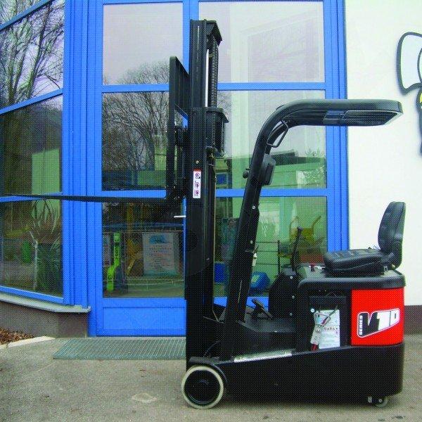 Čelní elektrické vysokozdvižné vozíky EUROLIFT CZ 3E10 ET- 3E12 ET- 3E15 ET