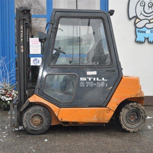 Použitý vysokozdvižný vozík dieselový STILL R70-25 v dobrém stavu