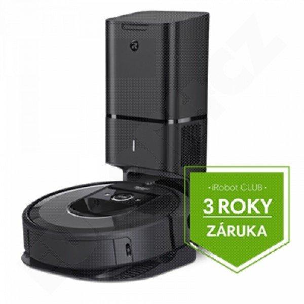 Robotický vysavač iRobot Roomba i7+ (black 7558)