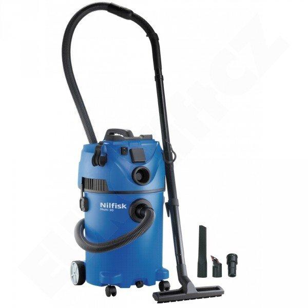 Mokrosuchý vysavač Nilfisk ALTO MULTI 30 T pro vysávání uvnitř i venku