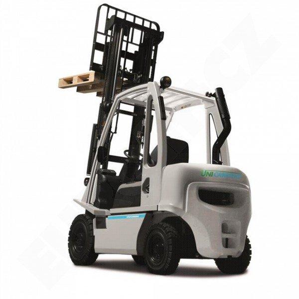 Čelní vysokozdvižné vozíky NISSAN DX 15-18 UNI CARRIERS-pohon diesel