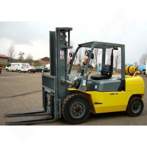 Vysokozdvižný vozík plynový EUROliftCZ B45-LPG