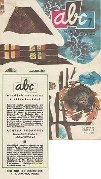Titulní strana časopisu ABC